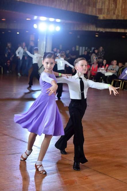 Школа бального танца. 4-6 лет Новороссийск